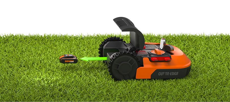 Новые аккумуляторы для роботов газонокосилок на 2Ач и на 4Ач