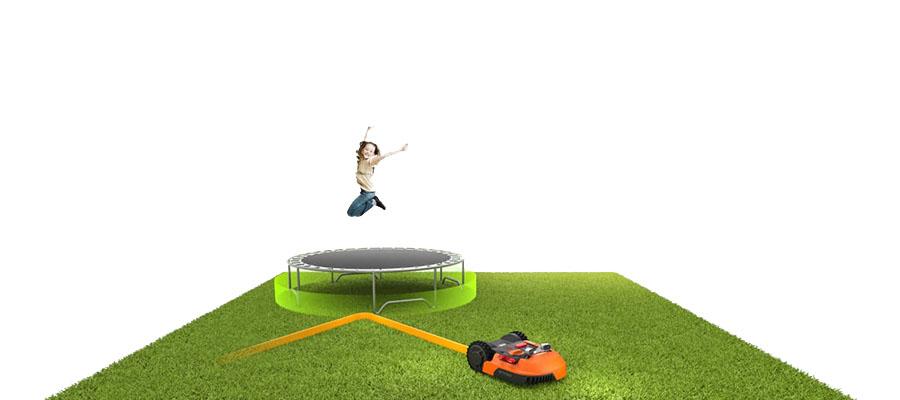 Новый умный забор Off Limits для роботов газонокосилок Landroid WORX WA0892