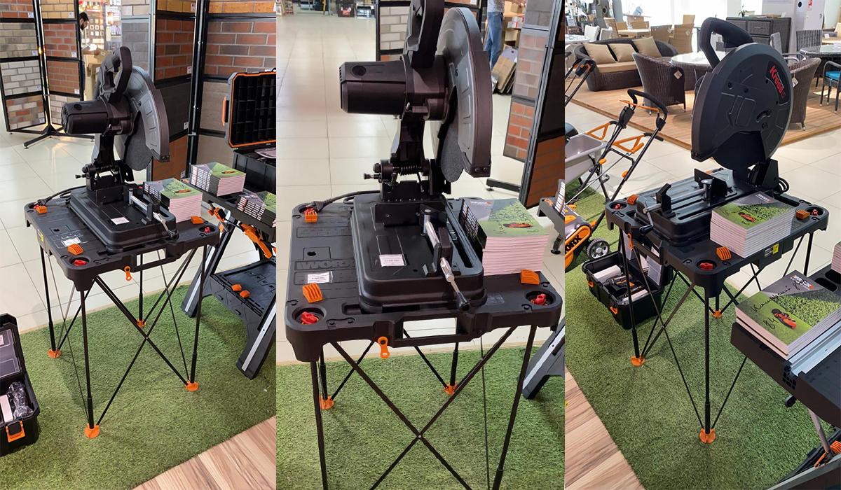 Несмотря на свой легкий вес - всего 6,2 кг, рабочий стол WORX WX066 Sidekick способен выдерживать нагрузку до 135кг