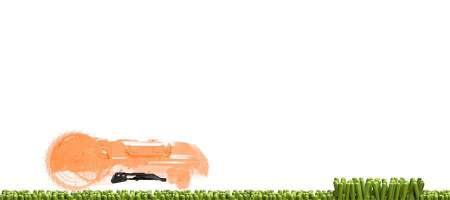 Новые модели Landroid оснащены плавающим режущим диском, который будет автоматически подниматься вместе с ножами, как только робот столкнется с препятствием, обеспечивая больший зазор между конструкцией робота и поверхностью земли.