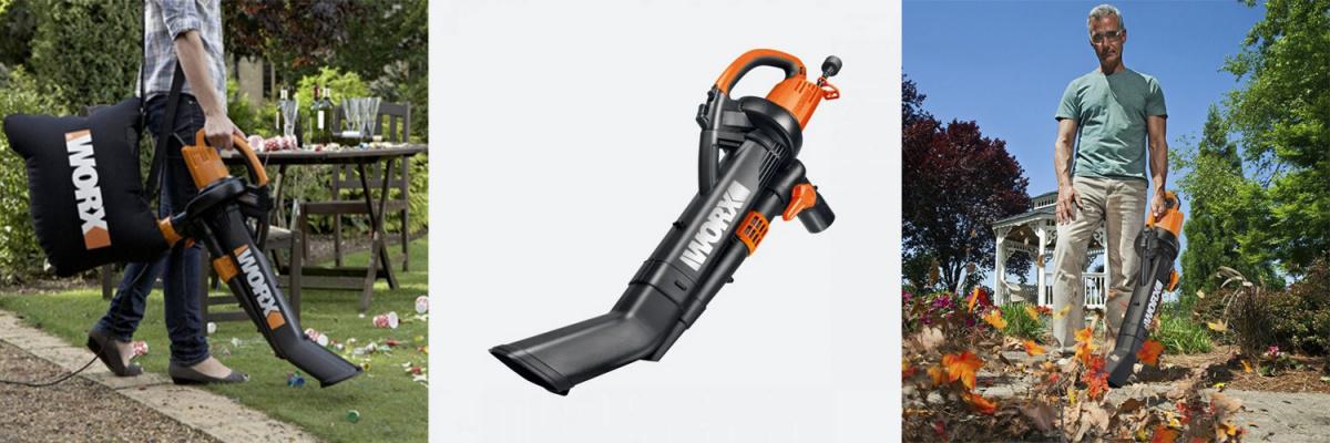 Используйте большую трубу для работы в режиме пылесоса, а маленькую трубу для работы воздуходувом.