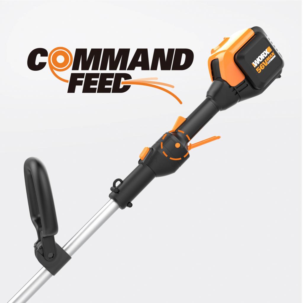 Система Command Feed в триммерах WORX