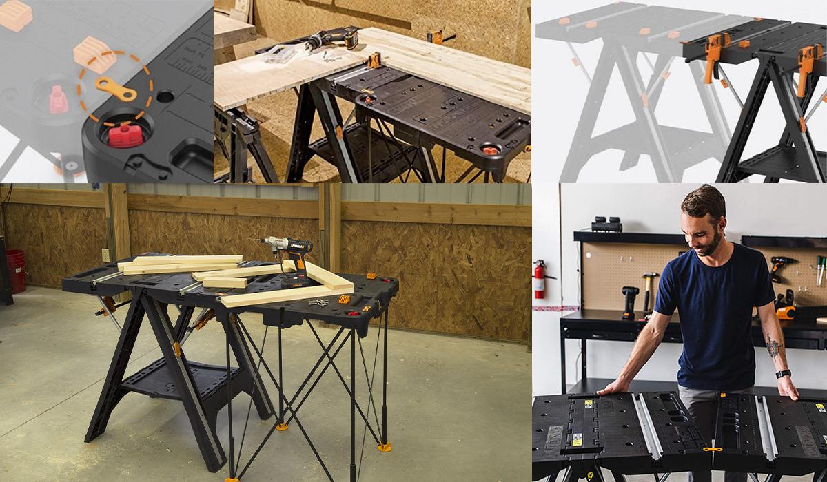 Соединение рабочих столов одной модели повышает надежность и устойчивость конструкции